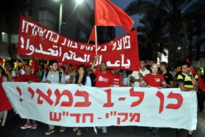 Several streets closed in Tel Aviv and Haifa for May Day rallies